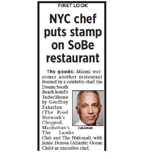 Miami Herald July 2011