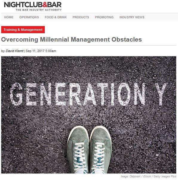 Nightclub & Bar Generation Y with Kelley Jones Hospitality