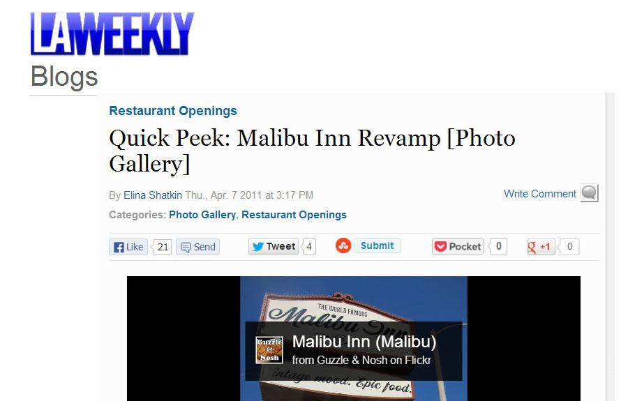 LA Weekly Apr 2011